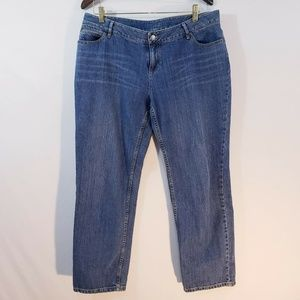 J Jill Womens Jeans Size 14P Boyfriend Relaxed Fit